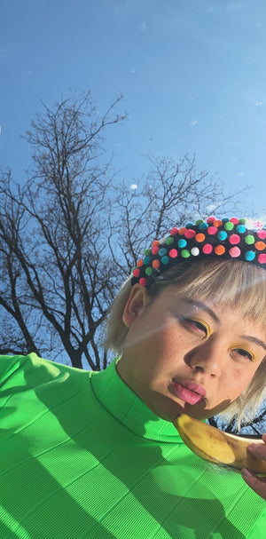 Load image into Gallery viewer, Mixed Candy Pom Headband