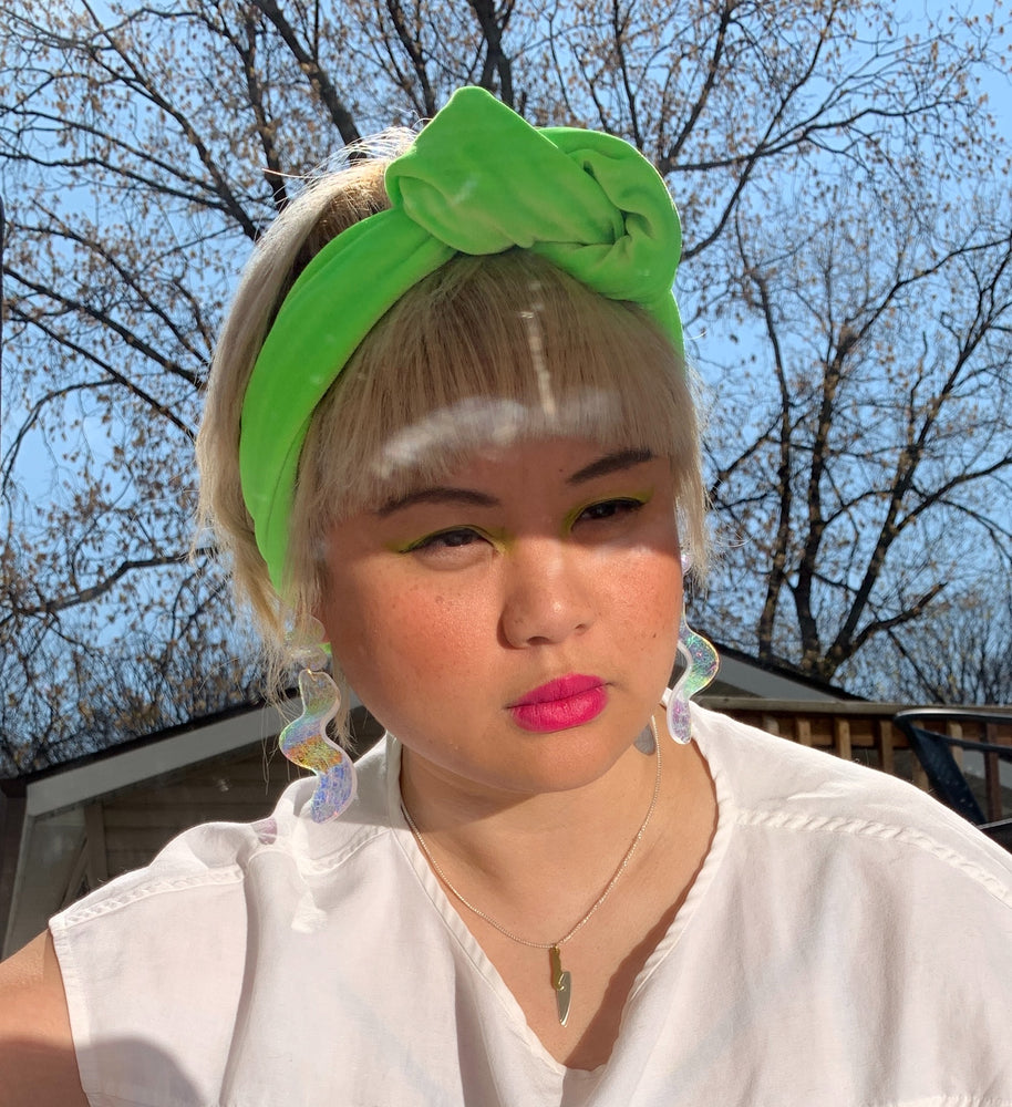 Lisa in lime