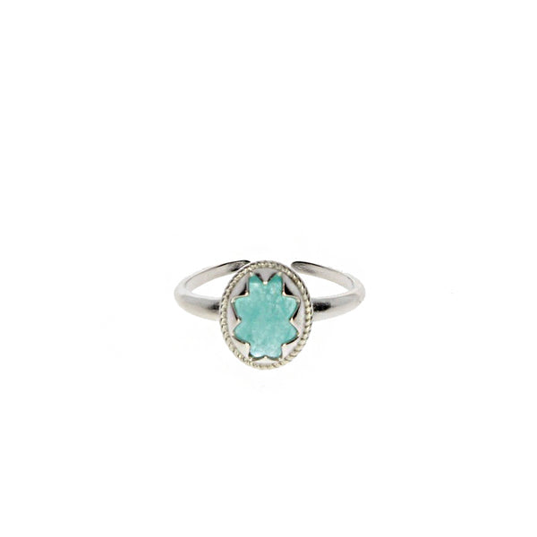 Moonchild Ring - Chrysoprase Stone