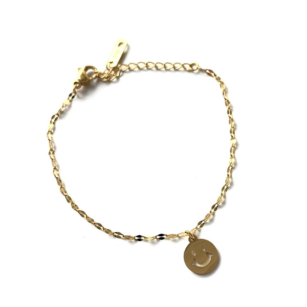 Armband | Golden Smiley