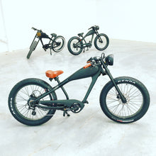 Load image into Gallery viewer, JULY DELIVERY: Cooler King 750w eBike - 48v, Retro Style Electric Bike