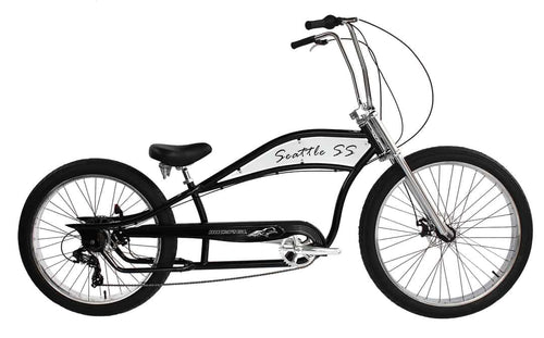 Micargi Seattle SS Chopper Beach Cruiser - APRIL DELIVERY
