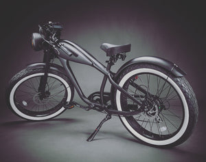OCTOBER DELIVERY: Cafe King 750s eBike - 48v, Retro Cafe Racer Style Electric Bike