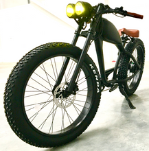 Load image into Gallery viewer, Cooler King 750t eBike - 48v, Retro Style Electric Bike