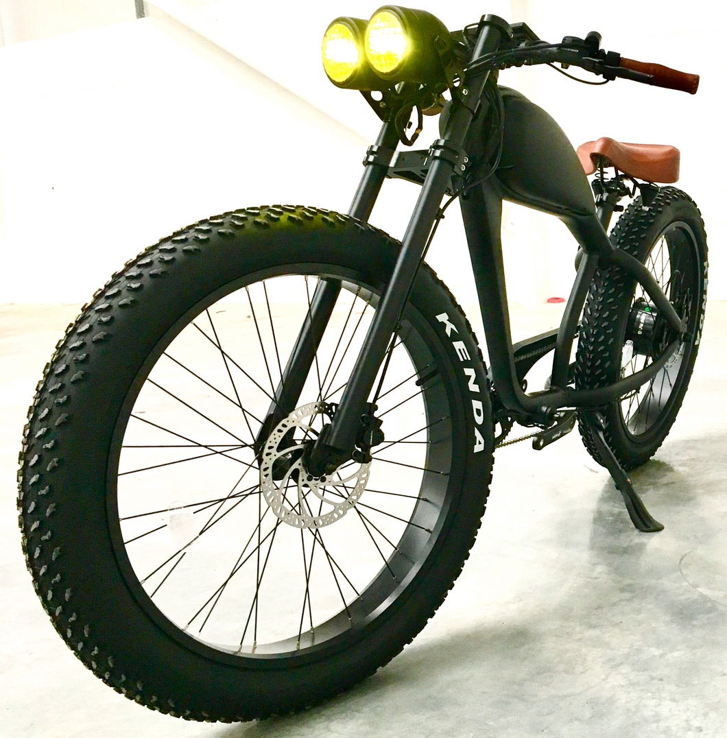 Cooler King 750t eBike - 48v, Retro Style Electric Bike
