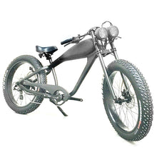 Load image into Gallery viewer, SEPTEMBER DELIVERY: Cooler King 750st BLACK EDITION eBike - 48v, Retro Style Electric Bike