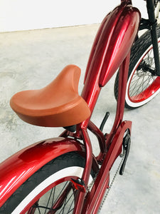 SPECIAL: Cooler King 750ws RED EDITION eBike - 48v, Retro Style Electric Bike