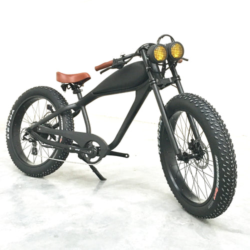 SOLD OUT: Cooler King 750t eBike - 48v, Retro Style Electric Bike