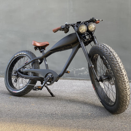 MAY DELIVERY - Cooler King 750st eBike - 48v, Retro Style Electric Bike