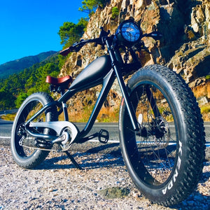 Cooler King 750w eBike - 48v, Retro Style Electric Bike