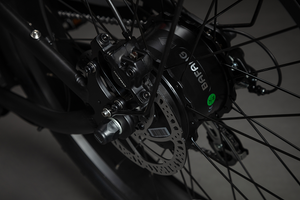 JULY DELIVERY: Cooler King 750st BLACK EDITION eBike - 48v, Retro Style Electric Bike