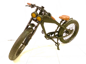 AVAILABLE NOW: Cooler King 750st eBike - 48v, Retro Style Electric Bike