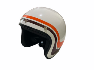 Cooler King Helmet - The Stripes of Freedom - Black Lined