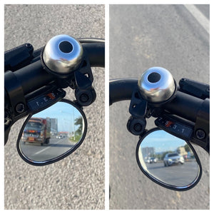 Discrete Under Bar Mirror - Left or Right Mounting For Cooler King Bikes