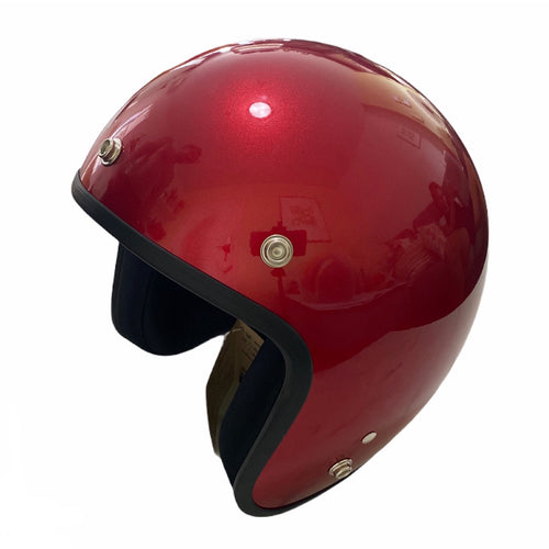 Cooler King Helmet - Red Edition - Black Lined