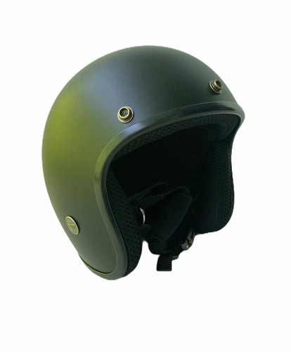 Cooler King Helmet - Matt Black - Black Lined