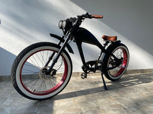 MAY DELIVERY - Cooler King 750ST8 eBike - 48v, Retro Style Electric Bike