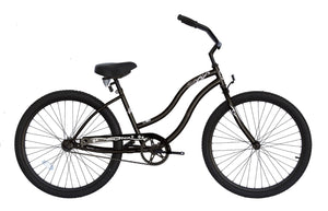 "Micargi Touch, Black - Unisex 26"" Beach Cruiser Bike - MARCH DELIVERY"