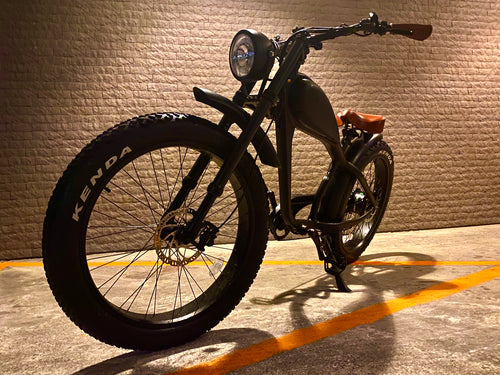 MAY DELIVERY - Cooler King 750ws eBike - 48v, Retro Style Electric Bike - with front suspension