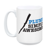 Plumb Simply Awesome Mug