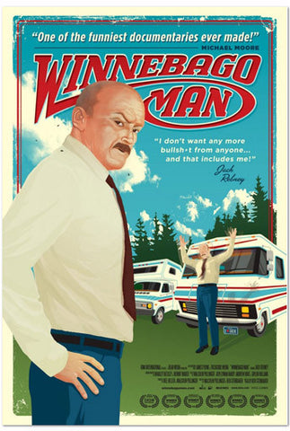 "Winnebago Man Movie Poster - 27"" x 40"""