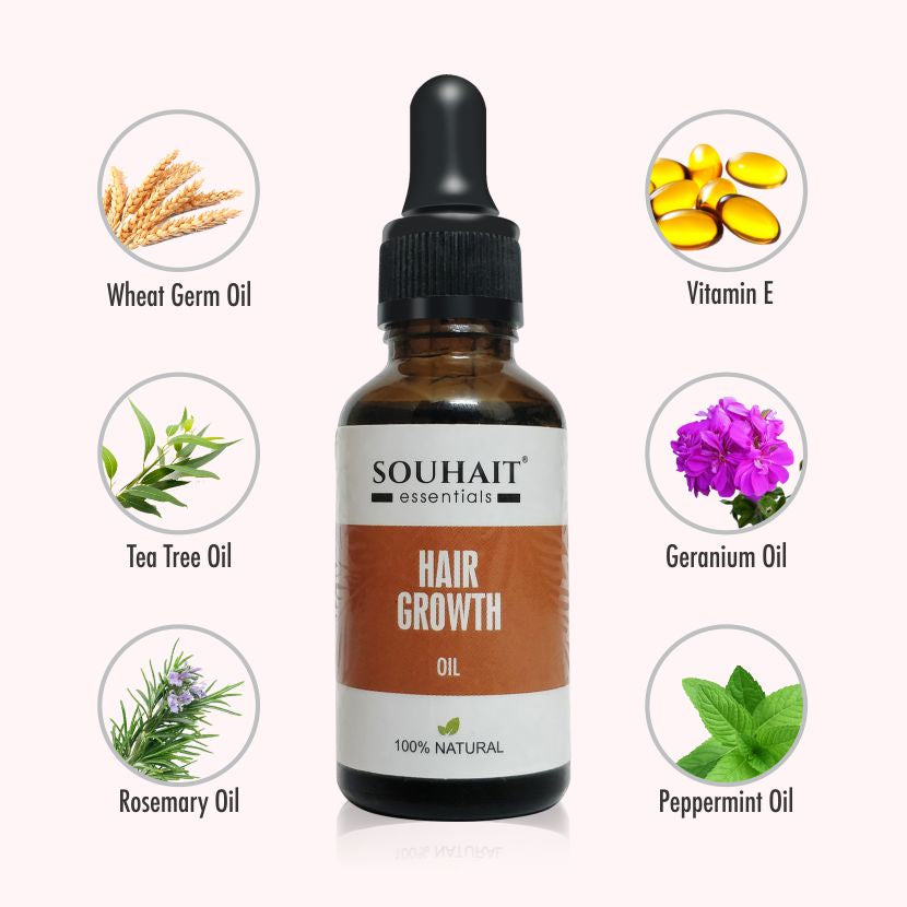 Hair Growth Oil - 100% Natural - 30ml