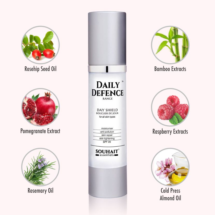 Day Shield Moisturiser With SPF 20 - 50ml