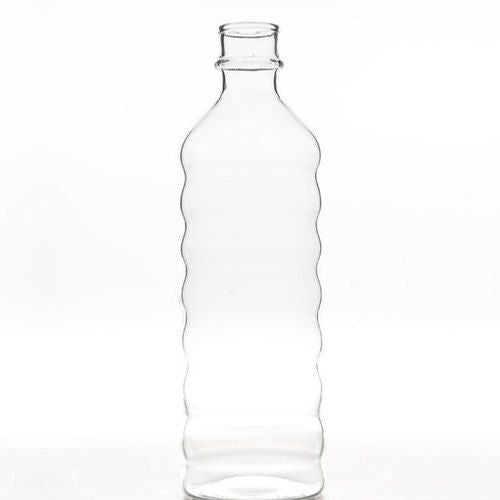 GLASS BOTTLE - RIPPLE