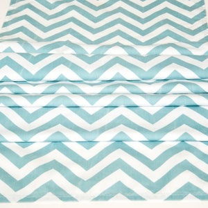 RUNNER - CHEVRON, DUCK EGG 3M X 45CM