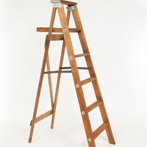 LADDER - BROWN WOOD 2M