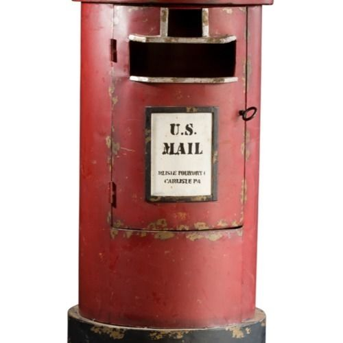VINTAGE - POST BOX 70CM X 37CM