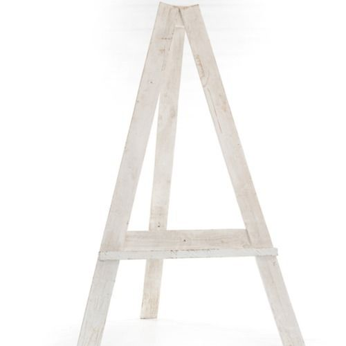 EASEL - WOOD - WHITE 1.7M