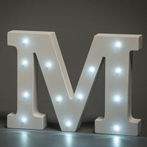 "MARQUEE LETTER LIGHT - ""M"" 1M TALL**"