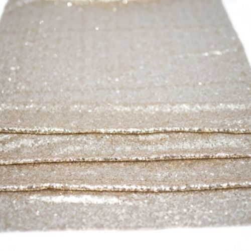 TABLE CLOTH - SEQUIN - GOLD 3M X 3M