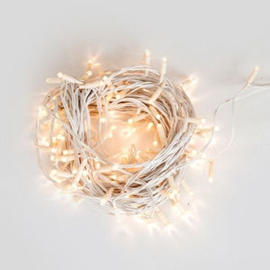 LIGHTING - FAIRY LIGHTS - WARM WHITE, WHITE CABLE (EXCL. INSTALLATION) 20 METRE LENGTH