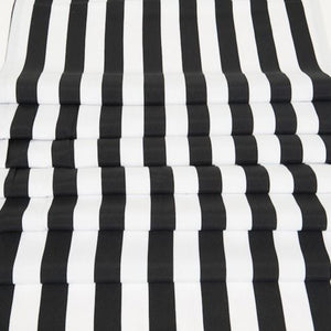 RUNNER - STRIPE, BLACK & WHITE 3M X 40CM