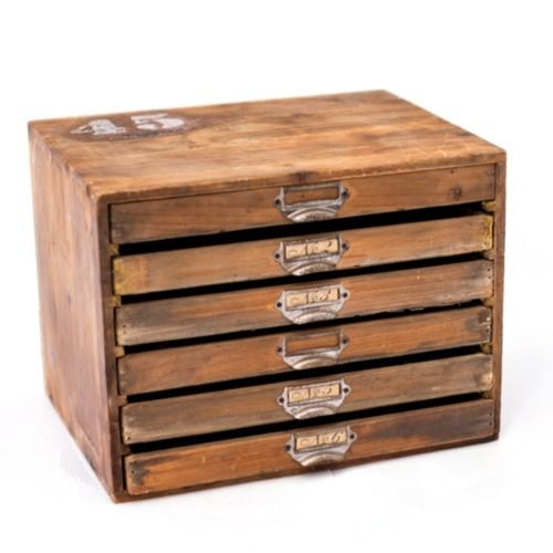 WOODEN DRAWER SET 37CM X 28CM