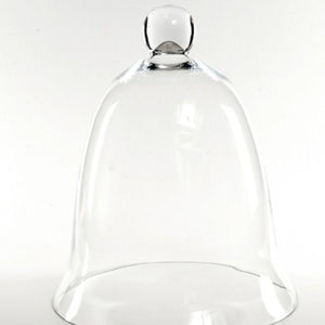 GLASS VASE - BELL JAR / CLOCHE LARGE 32CM X 25CM