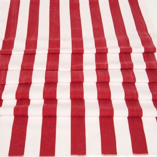 RUNNER - STRIPE, RED & WHITE 3M X 50CM