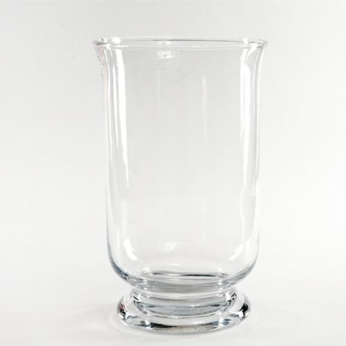 GLASS VASE - HURRICANE  19CM X 14CM