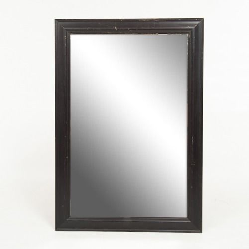 FRAME - MIRROR - DARK WOOD  52CM X 81CM