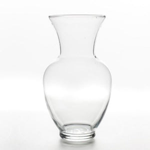GLASS VASE - BEAKER SMALL 18CM X 10CM