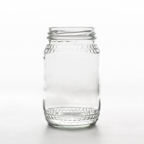 GLASS JAR - HONEY SMALL 11CM X 7CM 350ML