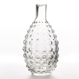 GLASS VASE - LEXI TEXTURED 25CM X 12CM