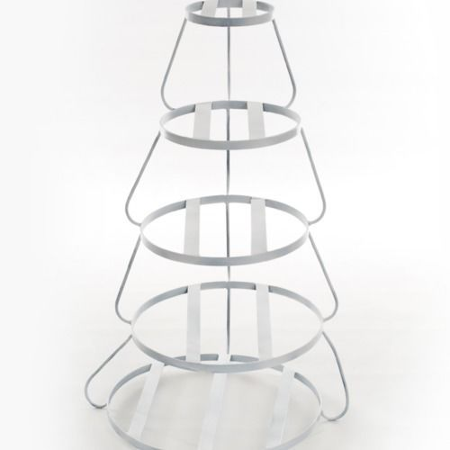 CAKE STAND - METAL 5 TIER 80CM TALL
