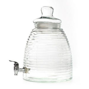 DRINKS DISPENSER - BEEHIVE - GLASS 8.5LITRE