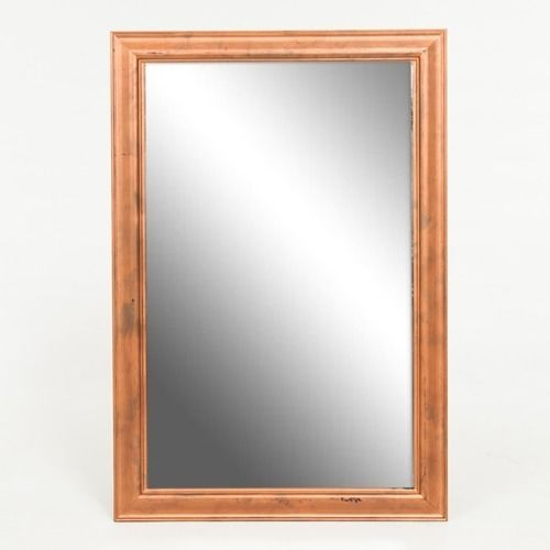 FRAME - LIGHT WOOD WITH MIRROR 51 CM X 81 CM