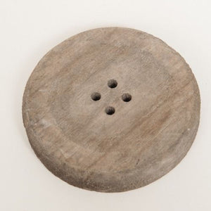 WOODEN BUTTON FOR PILLAR CANDLE 10 CM X 10 CM