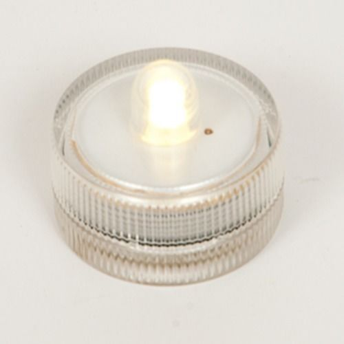CANDLE - TEA LIGHT BATTERY OPERATED (EXCL. BATTERY)