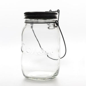 LIGHTING - CONSOL JAR SOLAR LIGHT 16CM X 10CM